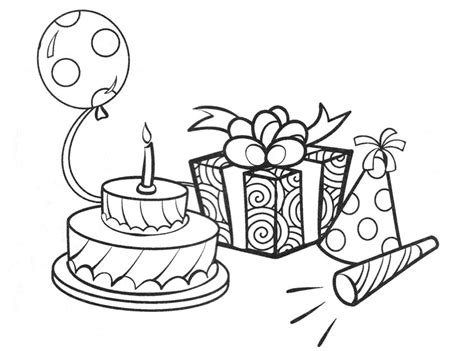 Coloring Activity Pages Birthday Stuff Coloring Page Coloring Pages Of Stuff