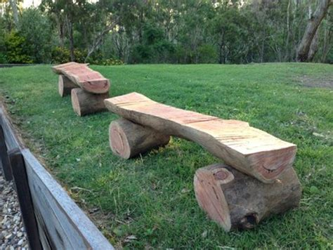 log bench pictures log benches by watermark lumberjocks com woodworking community