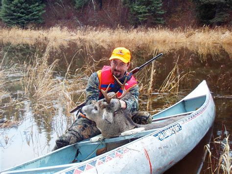 canoes for hunting moose hunting and whitetail deer hunting at eagle lake