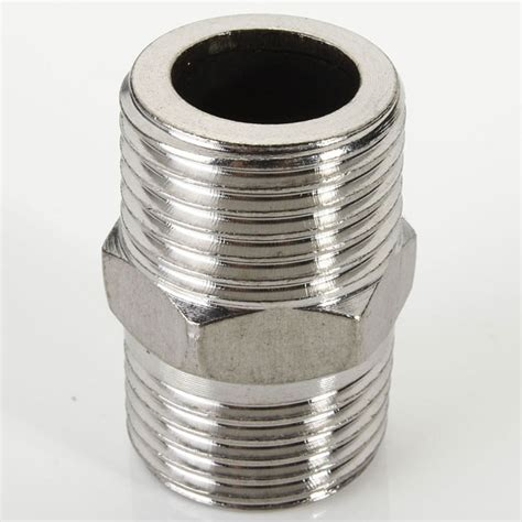 Kunci Pipa 2 Inch hex 1 2 inch x 1 2 inch ss304 threaded pipe fitting alex nld