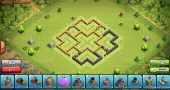 coc strong base structures for lvl6 townhall clockwork6 farming base for town hall 6 clash of clans land