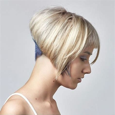 how to cut angle inverted bob with razor 17 best images about sweet cuts on pinterest bobs