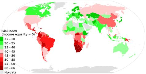 File 2014 Gini Index World Map Income Inequality
