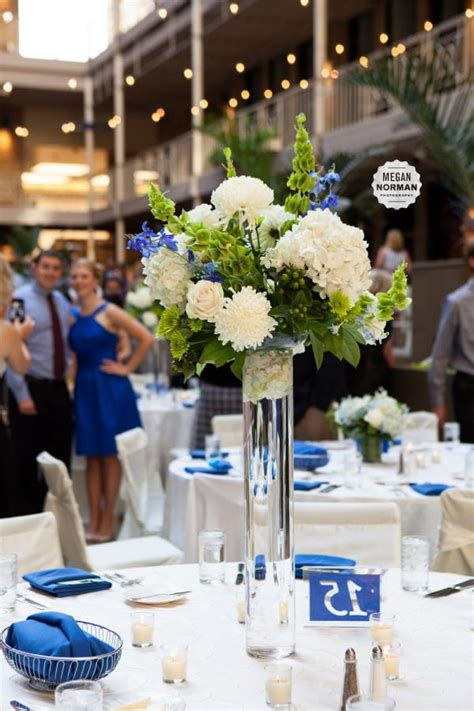 To Market Centerpiece by Blue And Green Centerpieces For Weddings White And Green