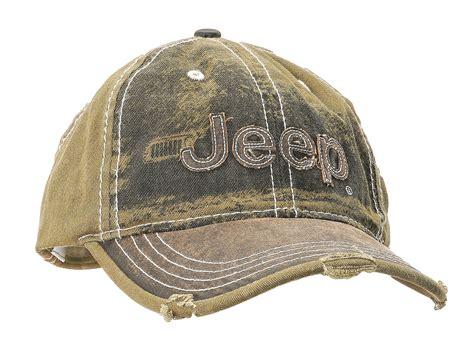 jeep hat mopar 10u6k heavy stone washed olive jeep cap quadratec