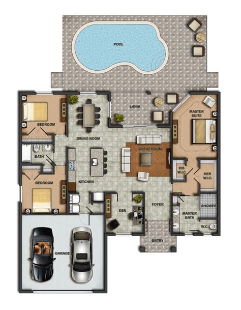 Fung Shwai by 100 New Construction House Plans Floor Plans For