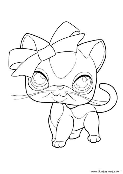 littlest pet shop 005 dibujos y juegos para pintar y