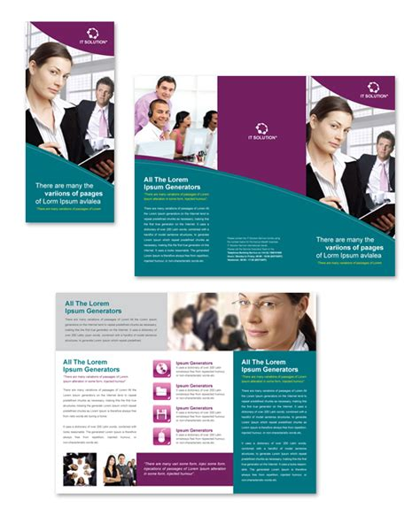 Microsoft Flyer Templates Free Download Yourweek A5698eeca25e Free Brochure Templates For Word