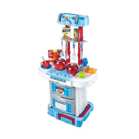 Kitchen Set Koper Mainan jual st4rshop q03r deluxe kitchen set koper mainan anak