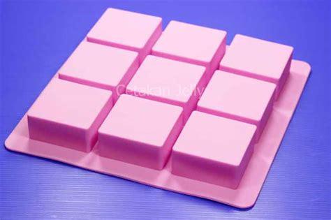 Cetakan Kue Puding Bund Mix 15 Cav cetakan silikon sabun med box 9 cavity cetakan jelly