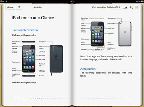 apple releases ipod touch 5th user guide as benchmarks surface