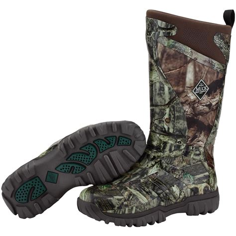 mens camo muck boots s muck boots 14 quot pursuit supreme waterproof camo