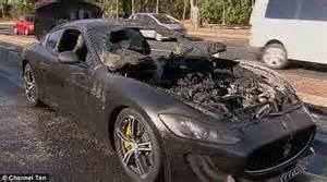Maserati Adelaide Maserati Granturismo Catches In Middle Of Busy