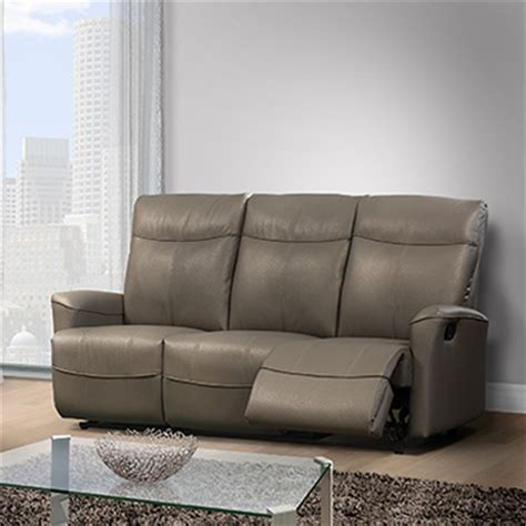 Elran Leather Sofa Elran Sofa Modern Furniture Axel Reclining Sectional By Elran Thesofa