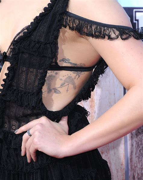chloe moretz unveils her delicate new tattoo photo 2