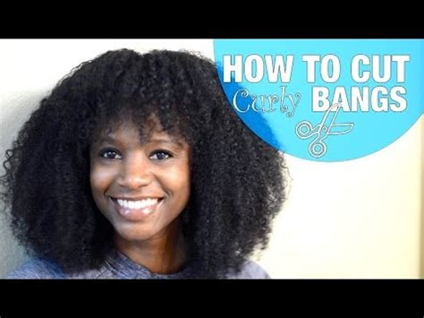 how to cut natural curly hair yourself how to cut curly bangs natural hair nik scott youtube