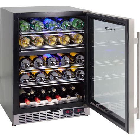 under bench fridge 2 zone wine refrigerator quiet running for under bench