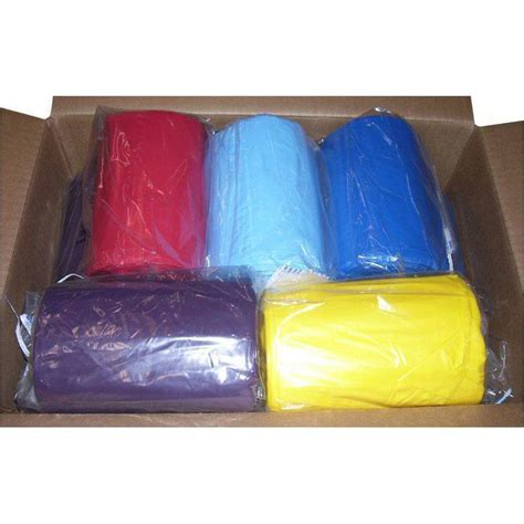 colored trash bags 13 gallon 24 quot x33 quot 1 1 mil lld colored trash bags can