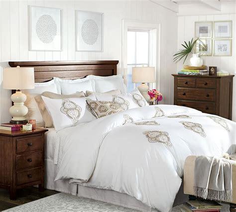 bedroom dresser covers white and light alyssa embroidered duvet cover sham bedrooms bedroom bedroom decor duvet