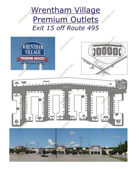 wrentham outlets map wrentham premium outlets mall 02038