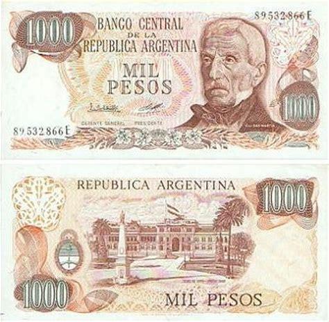 cuanto es 100000 pesos mexicanos en dollares yahoo 191 cual fue la historia del billete de 1000 pesos argentinos