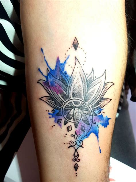 watercolor japanese tattoos the 25 best watercolor lotus ideas on