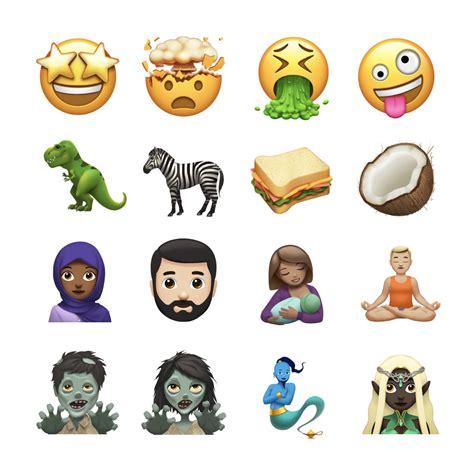 emoji new ios 11 0 emoji changelog