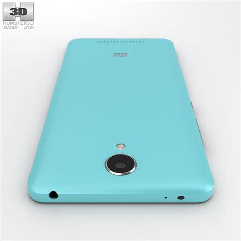 3d Xiaomi Redmi Note 2 xiaomi redmi note 2 blue 3d model hum3d