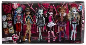 El pack de las 6 monster high b 225 sicas reeditadas dalyla s dolls
