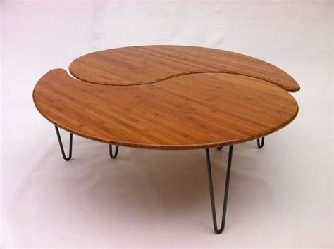 yin yang nesting large coffee table mid century