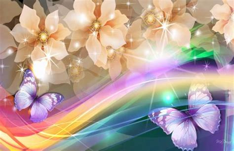 3d Butterfly Flowers Soft summer hd wallpapers page 14