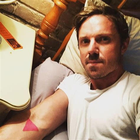 jake shears got a pink triangle tattoo this one s for