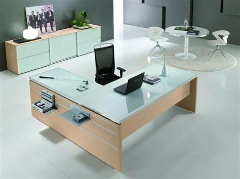 scrivanie per ufficio tavolo con piano in vetro ideale per ufficio direzionale