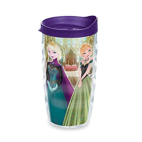 tervis 174 frozen anna and elsa at the ball wavy wrap 10 oz