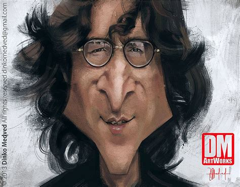 imagenes chistosas de john lennon caricatura de john lennon