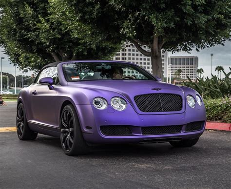 bentley wrapped bentley wrapped like a diary in matte purple