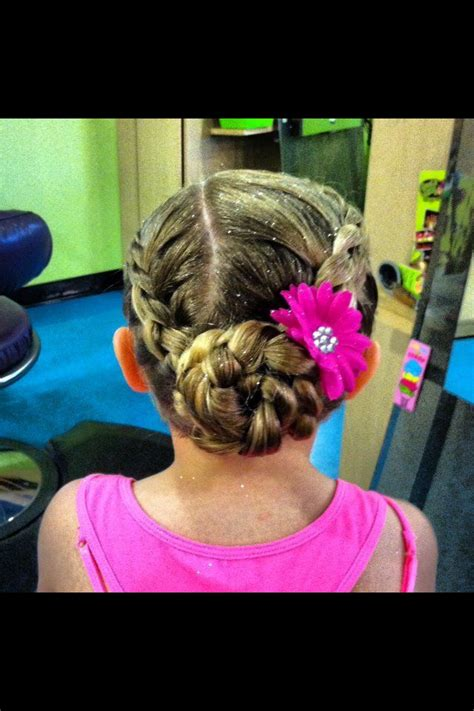 how to wear short hair for gymnastic meet 37 best images about meet hair on pinterest dance