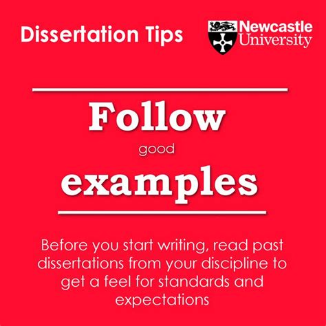 past dissertations follow exles before you start writing read past
