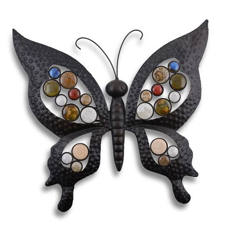 Metal Butterfly Garden Wall Art Feature Ornament For Butterfly Garden Wall