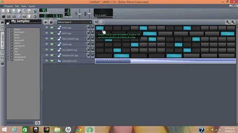 tutorial lmms youtube introducci 243 n a lmms base de ritmos tutorial 2 youtube