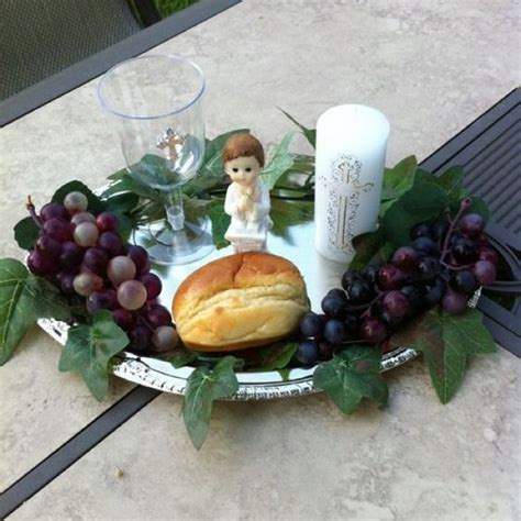 centerpieces for communion made these centerpieces for my sons communion comuni 243 n centerpieces communion