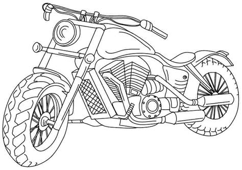 free motorcycle coloring pages to print coloring pages motorcycle