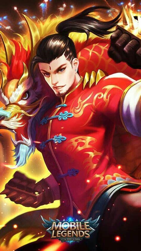 mobile legends chou dragon boy animasi gambar