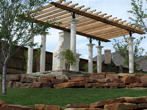 tuscan pergola tuscan villa outdoor living garden pergola with stucco