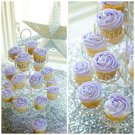 bridal shower cupcake pictures purple and glitz pensacola bridal shower pensacola event planner