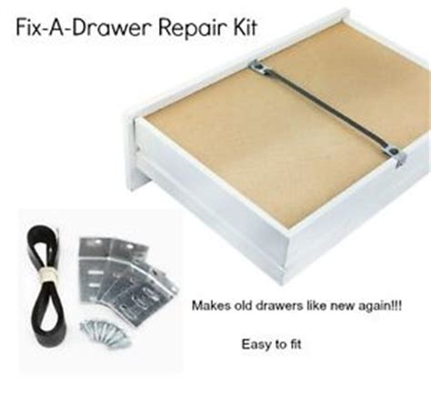 Drawer Repair by Fix A Drawer Repair Kit Sagging Buckled Chest Of Drawers X2