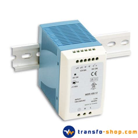 inductance dc variateur alimentation stabilisee modulaire 230vac 24vdc 100w