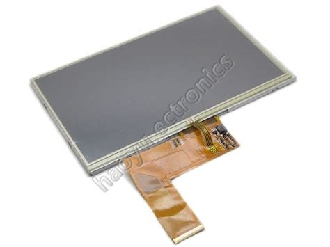 tft lcd display touch panel standard