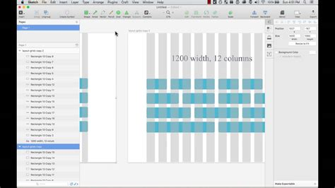 layout grid sketch designing with layout grids on sketch 3 youtube