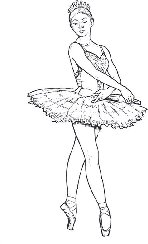 ballerina coloring pages for adults ballet dancer 15 adult coloring pages